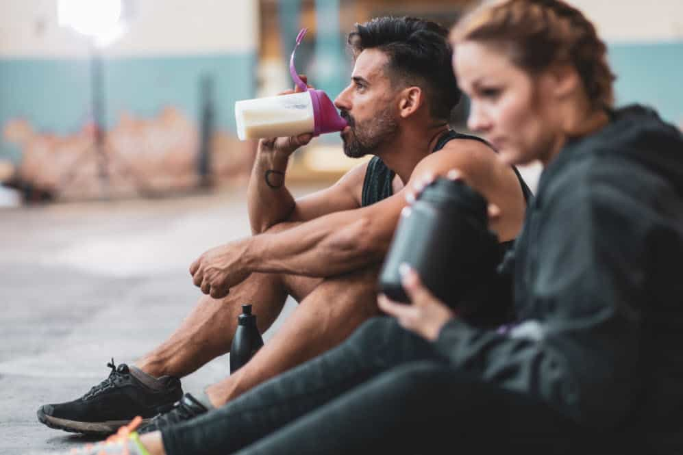 people drinking Creatine for mma