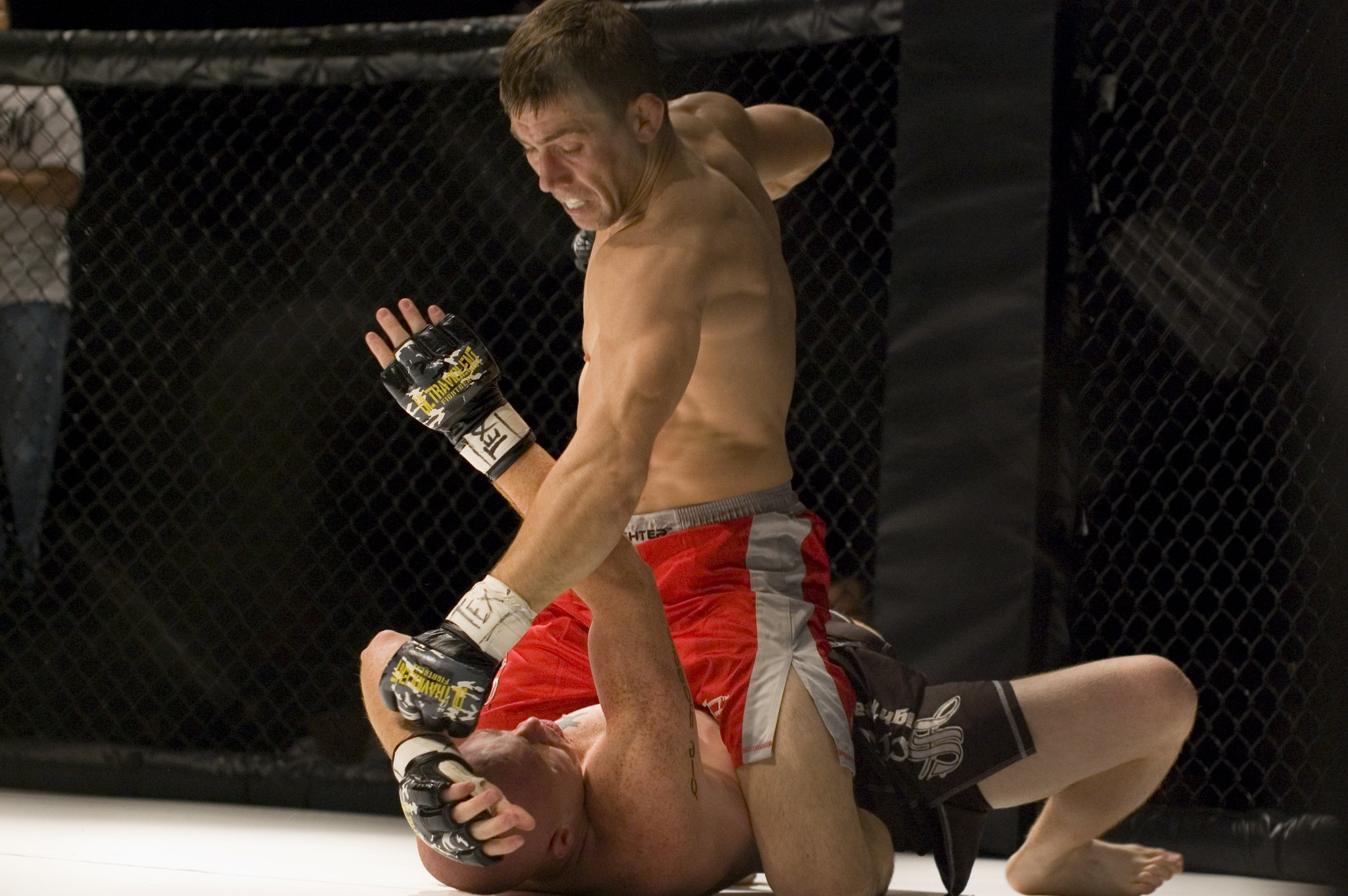 why are mma fighters barefoot